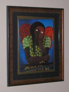 Black Girl With Wings by Laura James