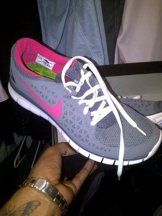Nike plus women running shoe