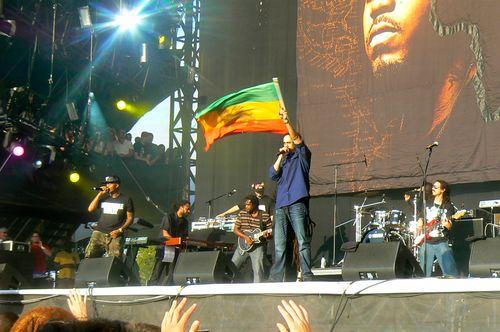 """Nas and Damien """"Jr. Gong"""" Marley at Austin City Limits"""