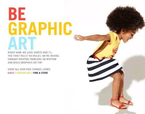 Gap Kids Ad Features Beautiful Kid-fro!