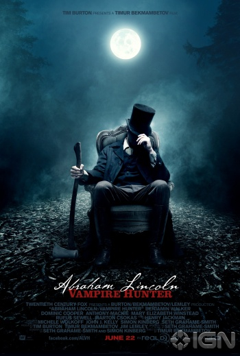 Just Felt This Flick: Abraham Lincoln Vampire Hunter