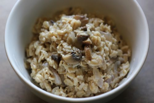 Savory Oatmeal Recipe
