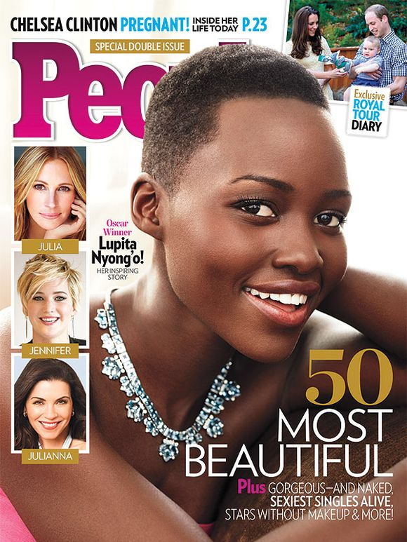 Lupita Nyong'o Is PEOPLE's Most Beautiful!