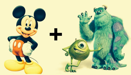 Disney and Disney Pixar