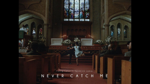 video still from Never Catch Me Flying Lotus Kendrick Lamar