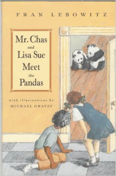 Mr. Chas and Lisa Sue Meet the Pandas cover from Amazon.com
