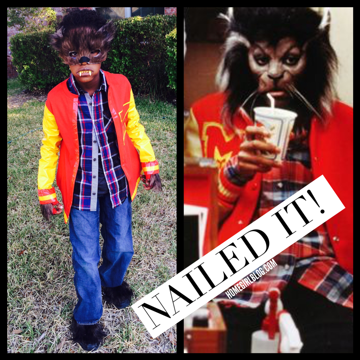 DIY Thriller Werewolf Costume  sc 1 st  Home Girl Blog & DIY Thriller Werewolf Costume - Home Girl Blog