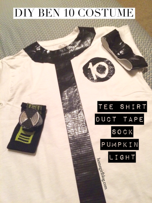 DIY Ben 10 Halloween Costume